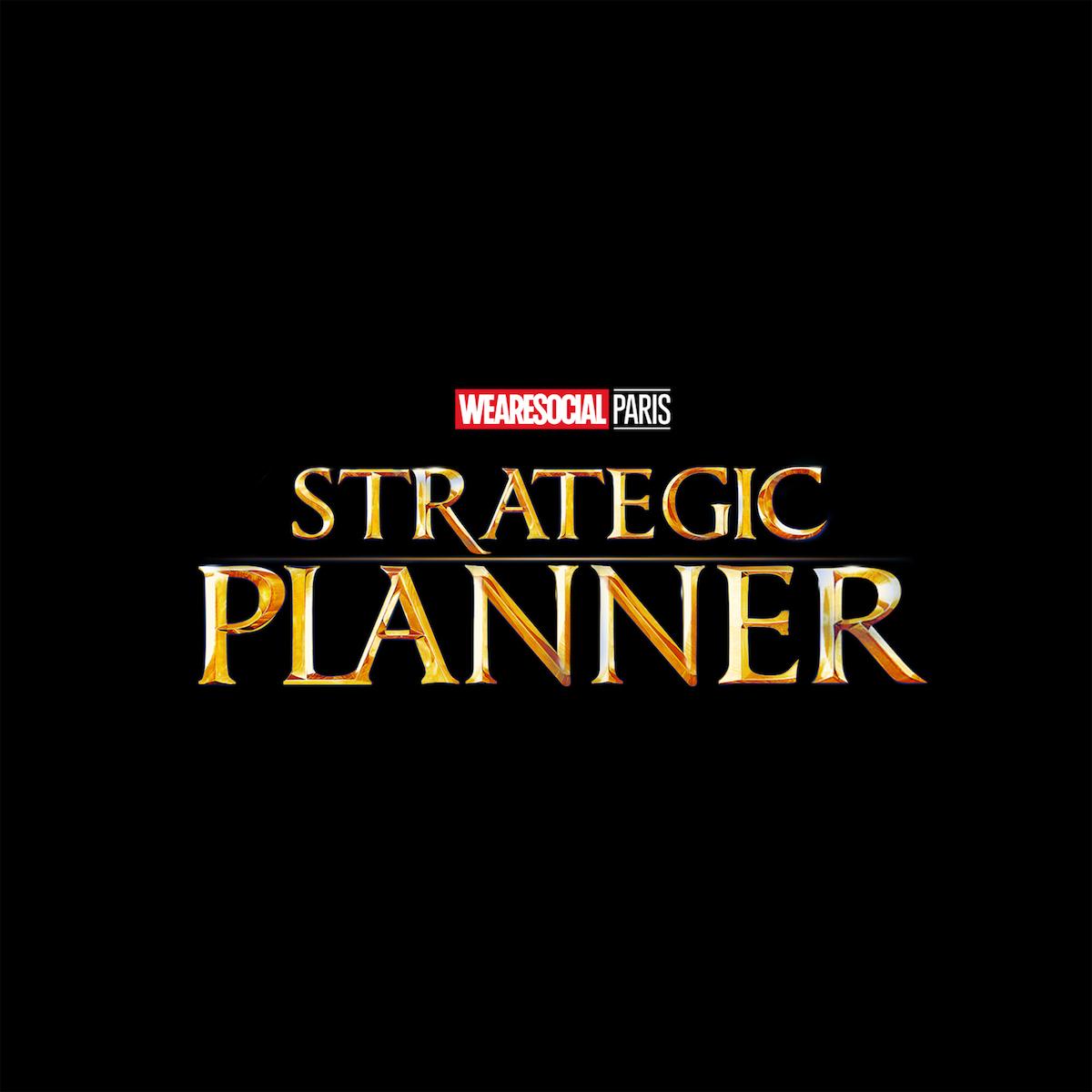Superhero Logos for creative agency job titles - Strategic Planner / Doctor Strange