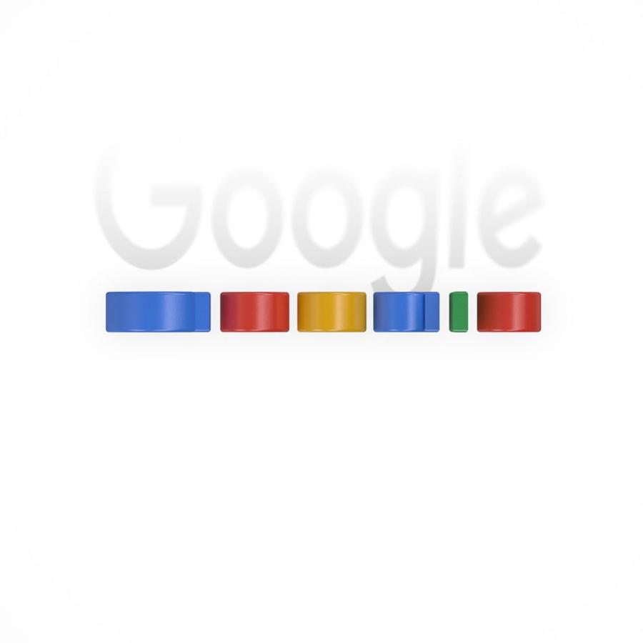 Bird's Eye Of Famous Logos - Google