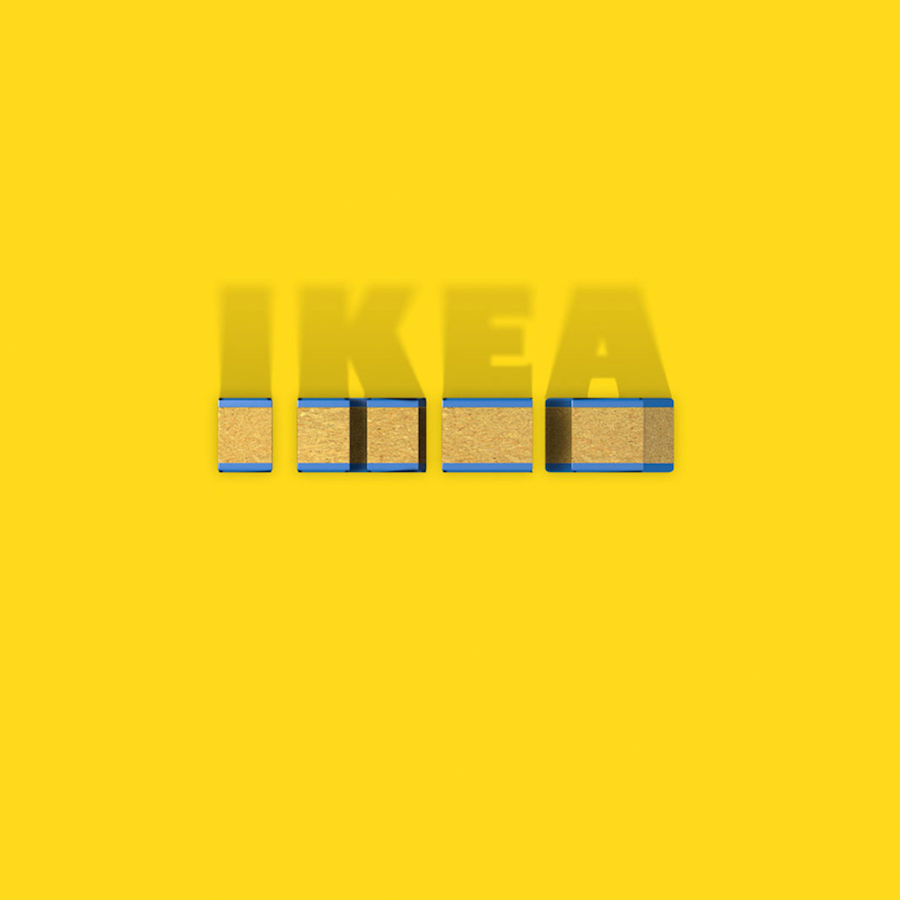 Bird's Eye Of Famous Logos - IKEA