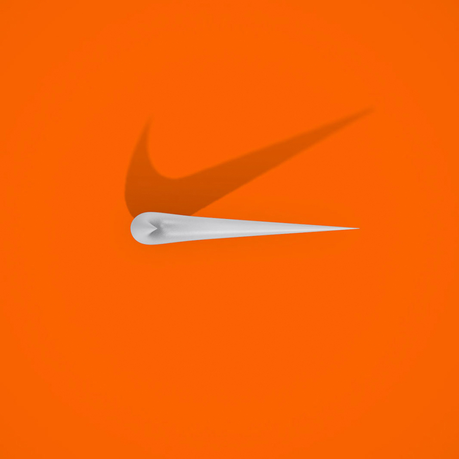 Bird's Eye Of Famous Logos - Nike
