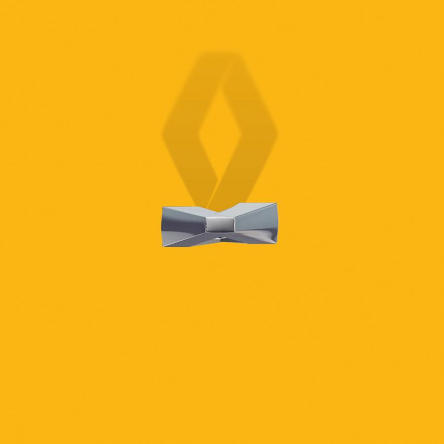 Bird's Eye Of Famous Logos - Renault