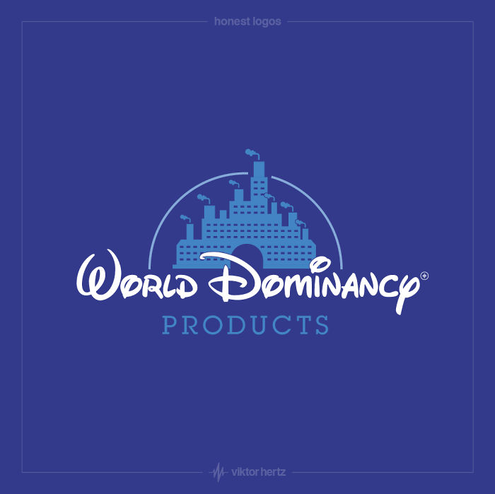 Honest Logos - Disney
