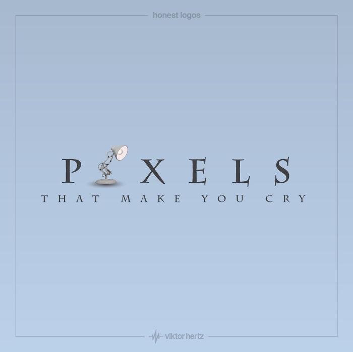 Honest Logos - Pixar