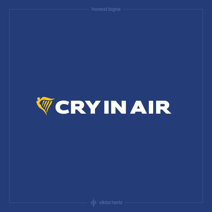 Honest Logos - Ryan Air
