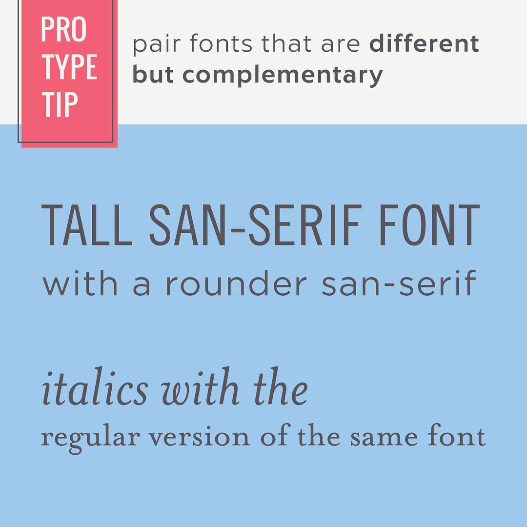 Typography Tips - 1