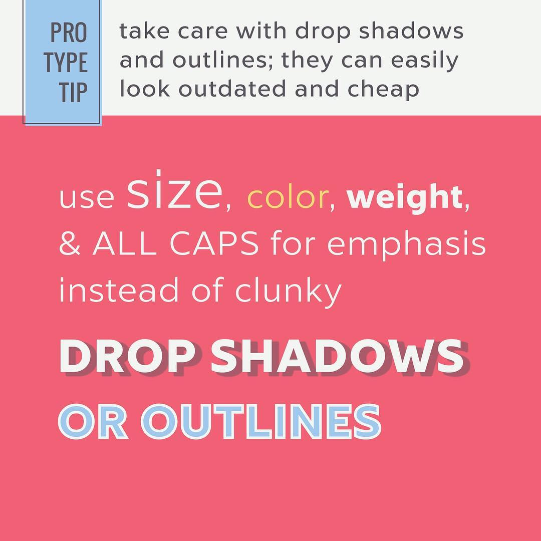 Typography Tips - 11