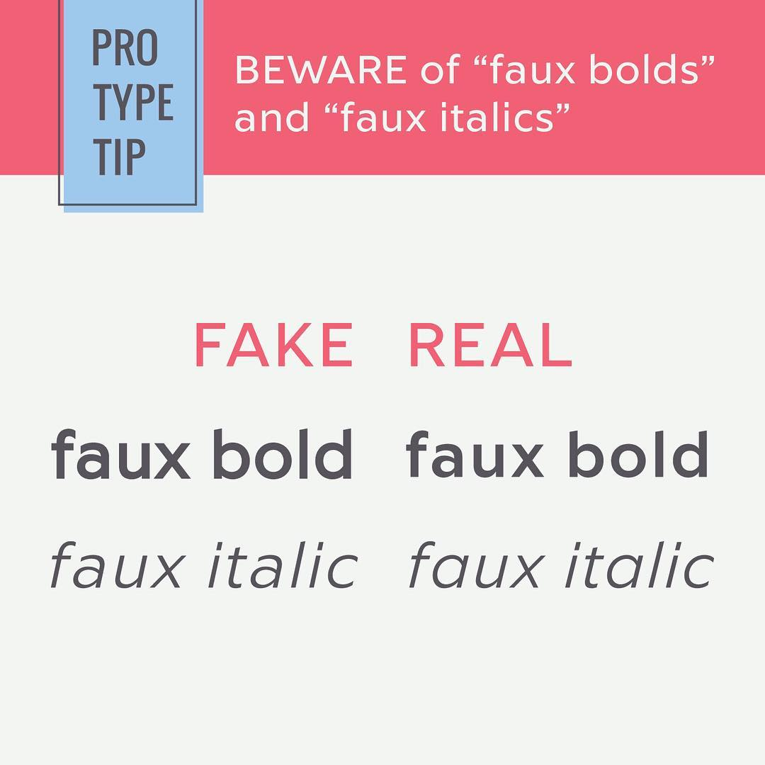 Typography Tips - 12