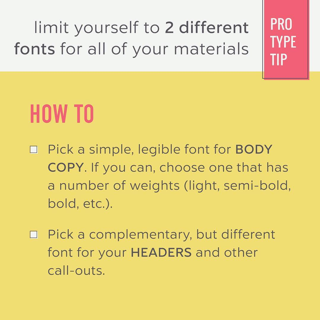 Typography Tips - 13
