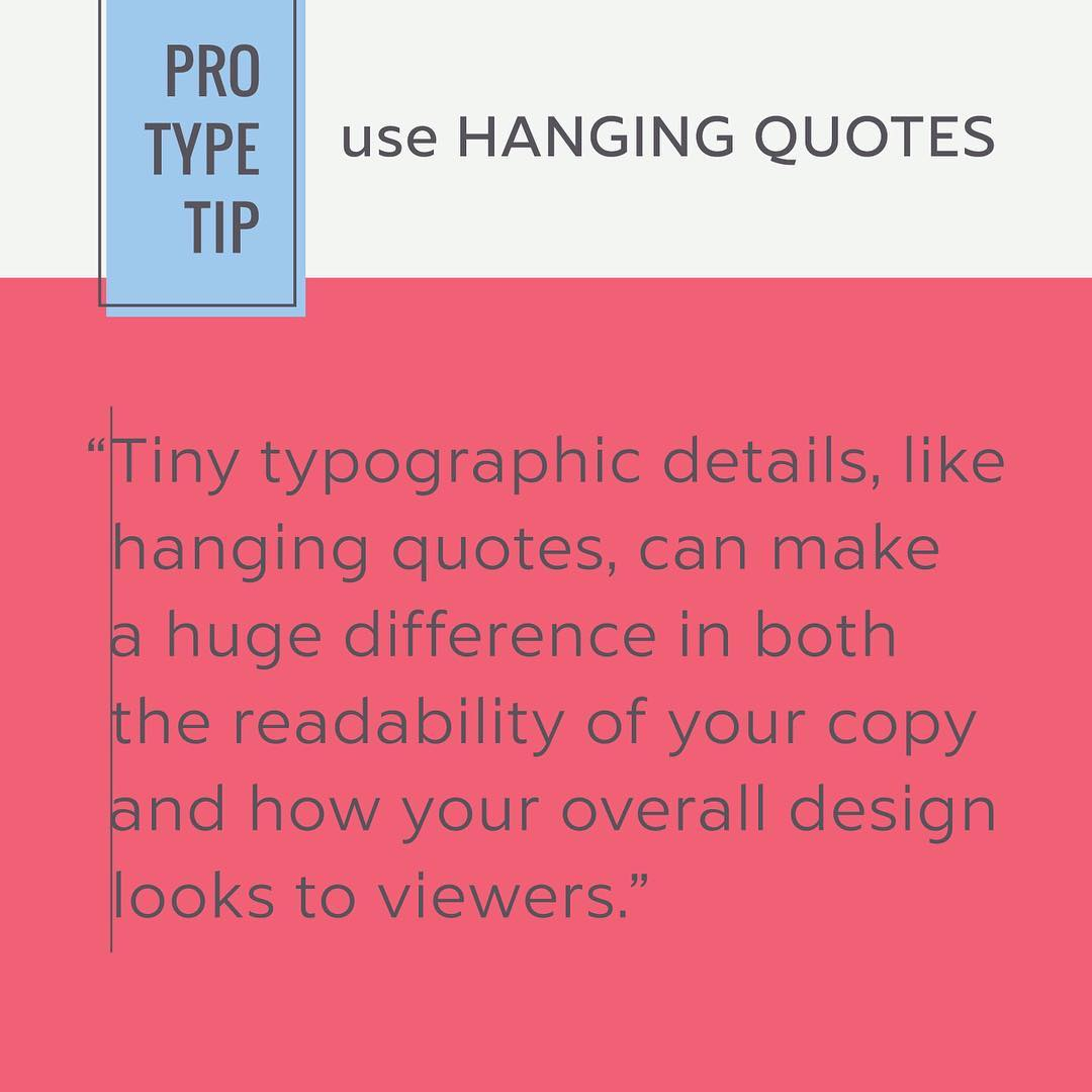 Typography Tips - 4