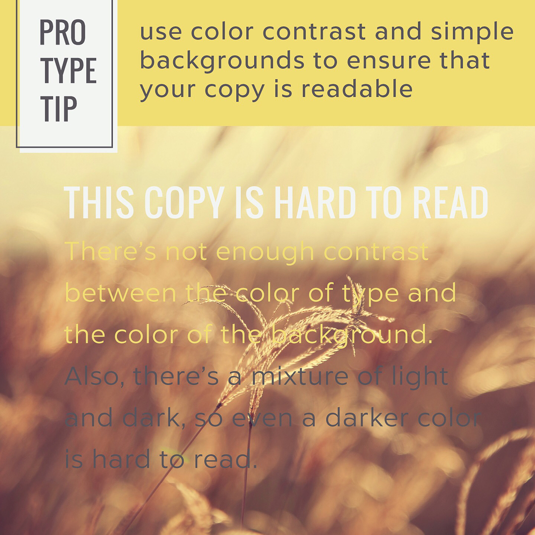 Typography Tips - 5