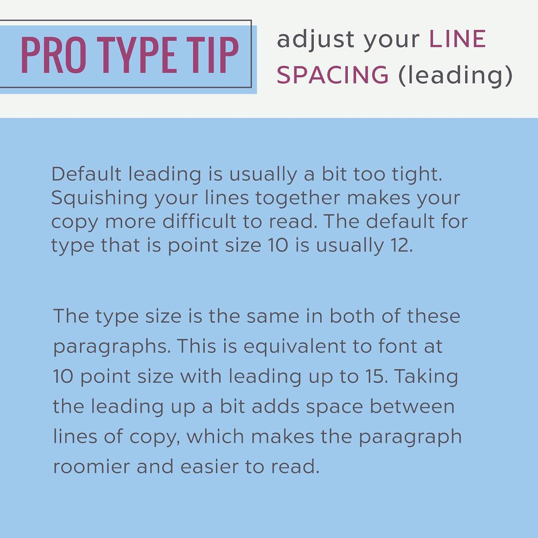 Typography Tips - 6