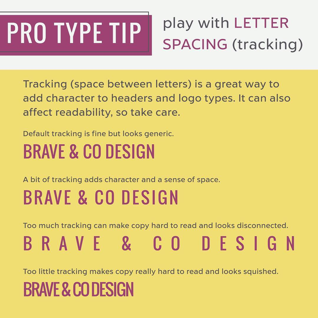 Typography Tips - 7