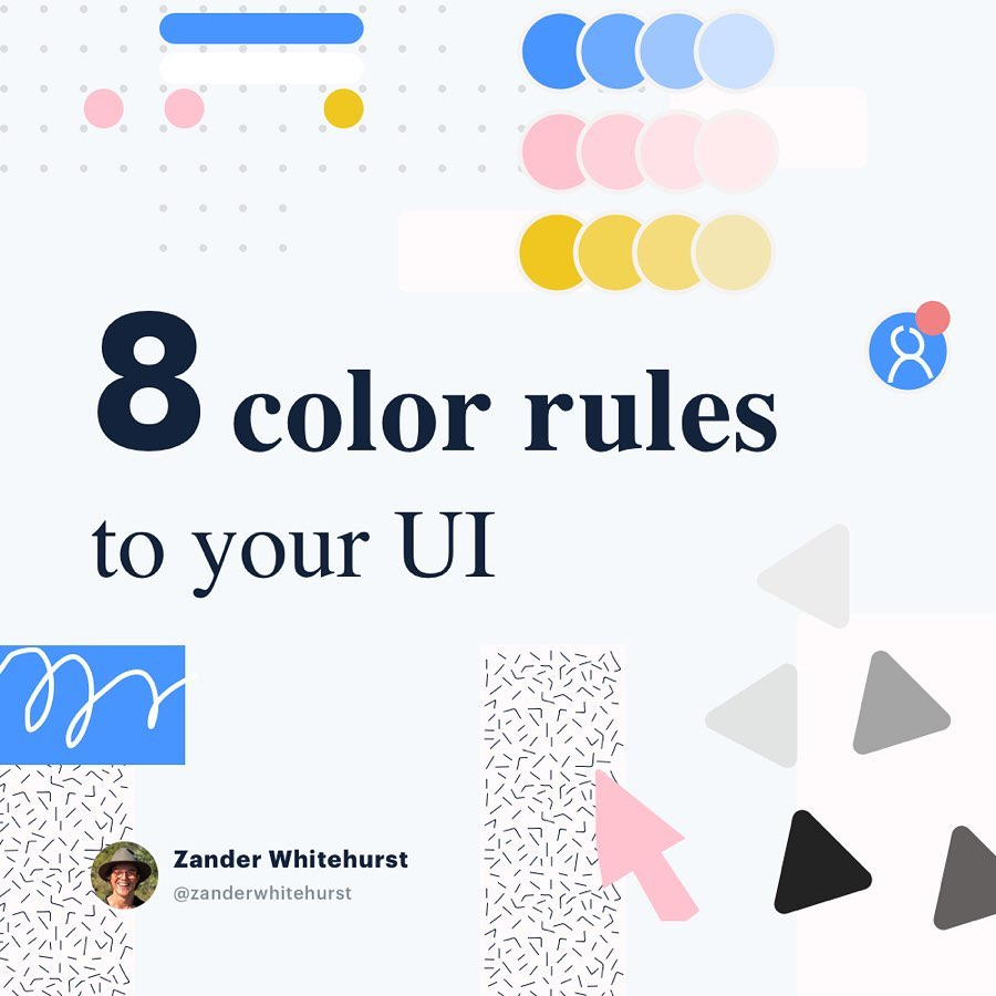 Color Rules for UI Design