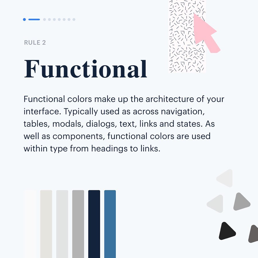 Color Rules for UI Design - Functional