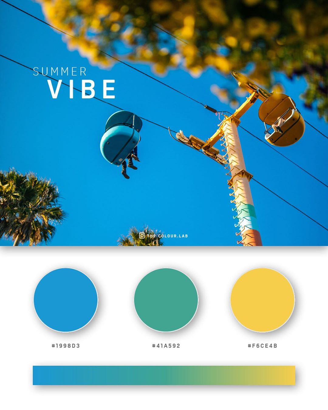 Blue, green, yellow color palettes, schemes & combinations