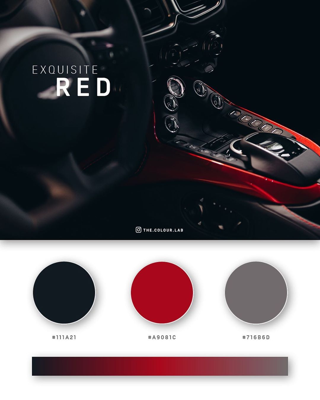 Red, black color palettes, schemes & combinations