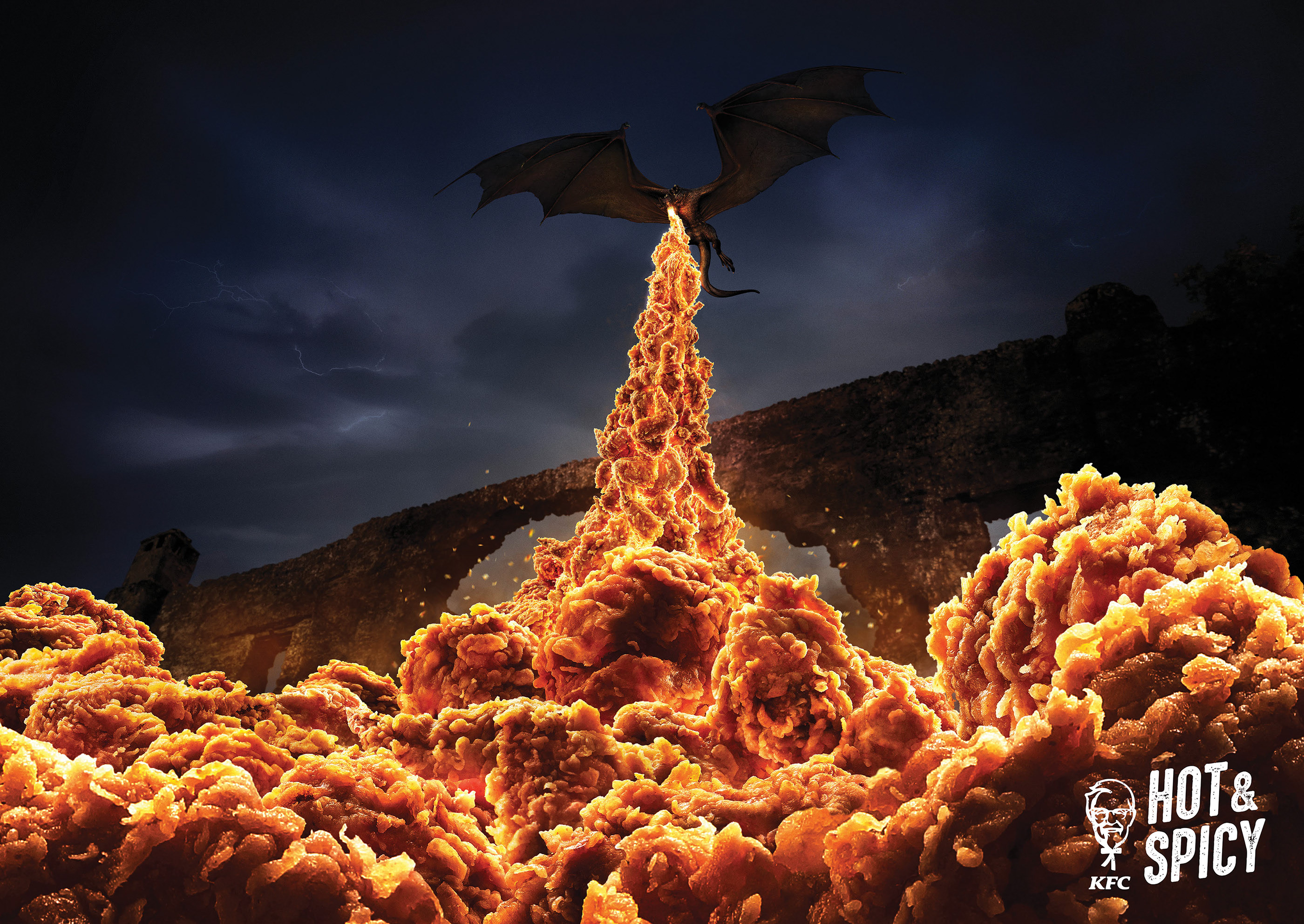 KFC Hot And Spicy - Dragon