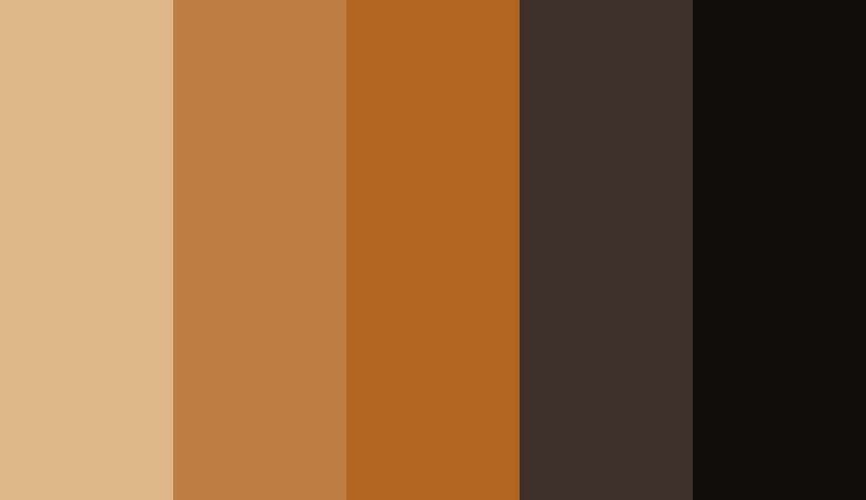 Logo color combinations - Brown, beige, and black