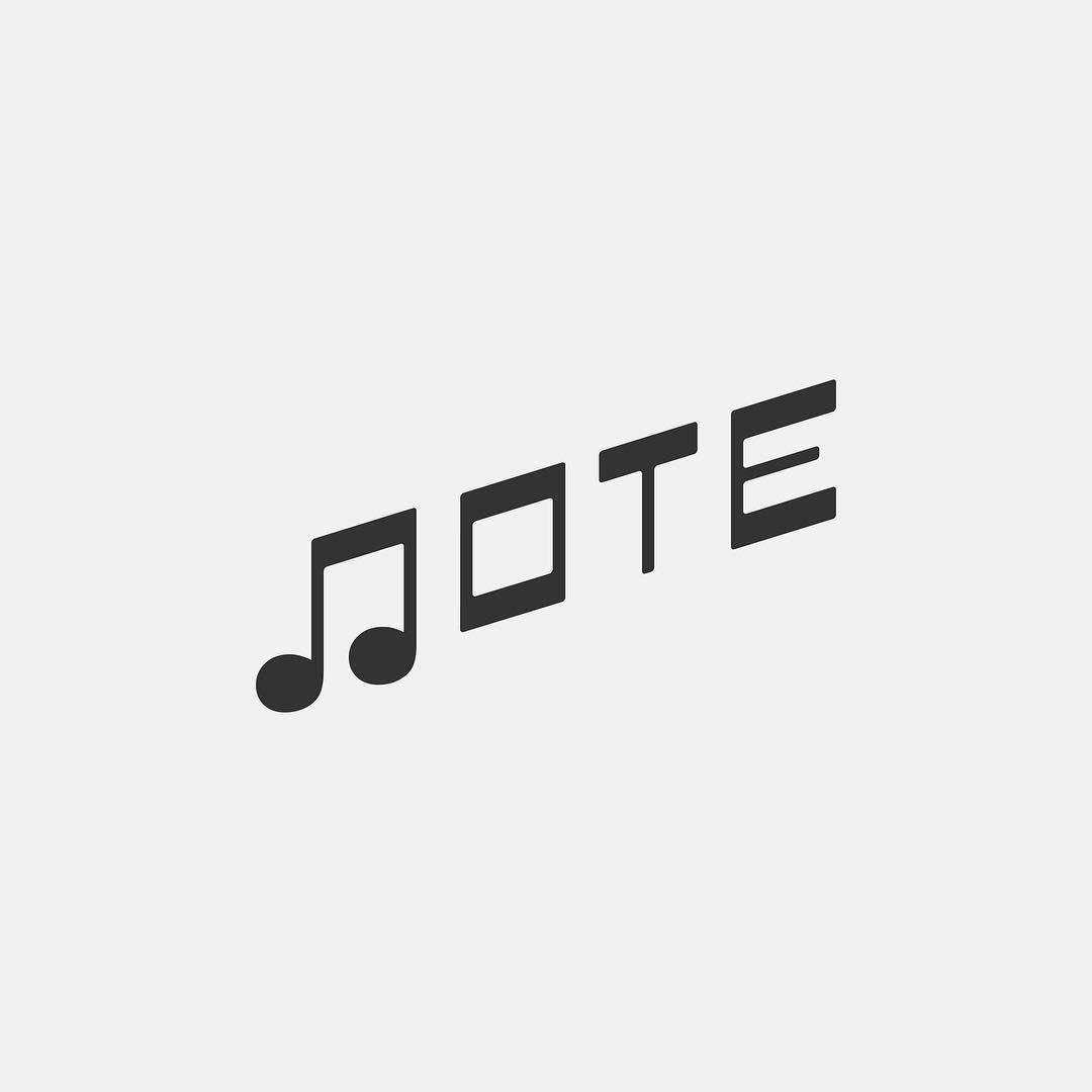 Typographic logos of common words - 10