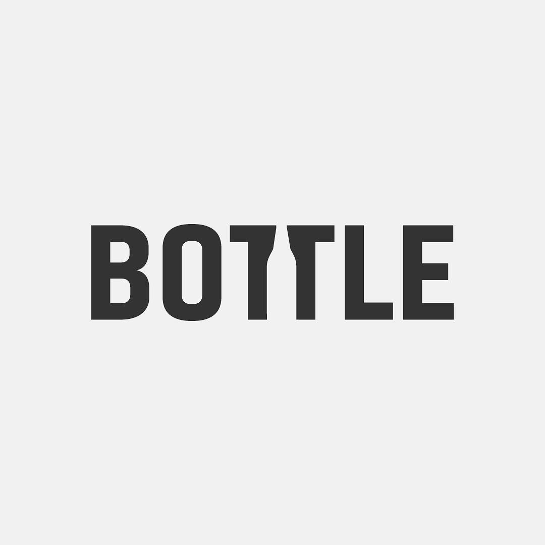 Typographic logos of common words - 23