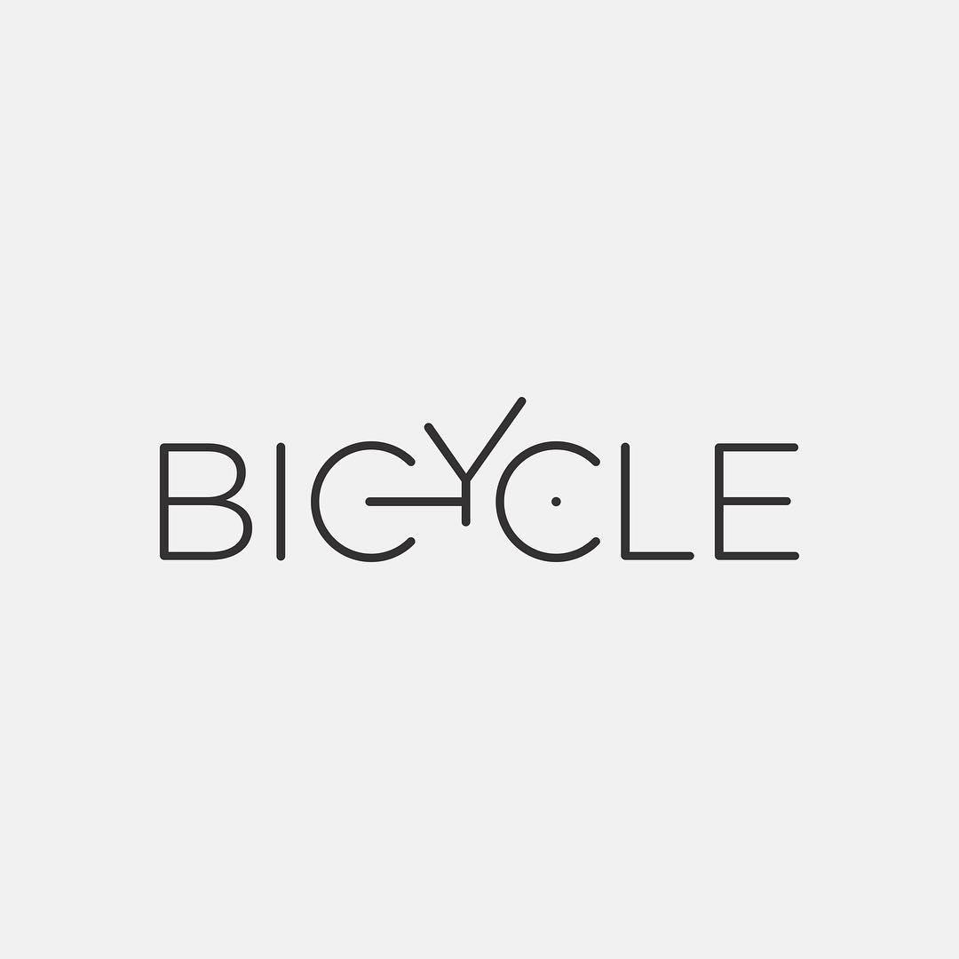 Typographic logos of common words - 4