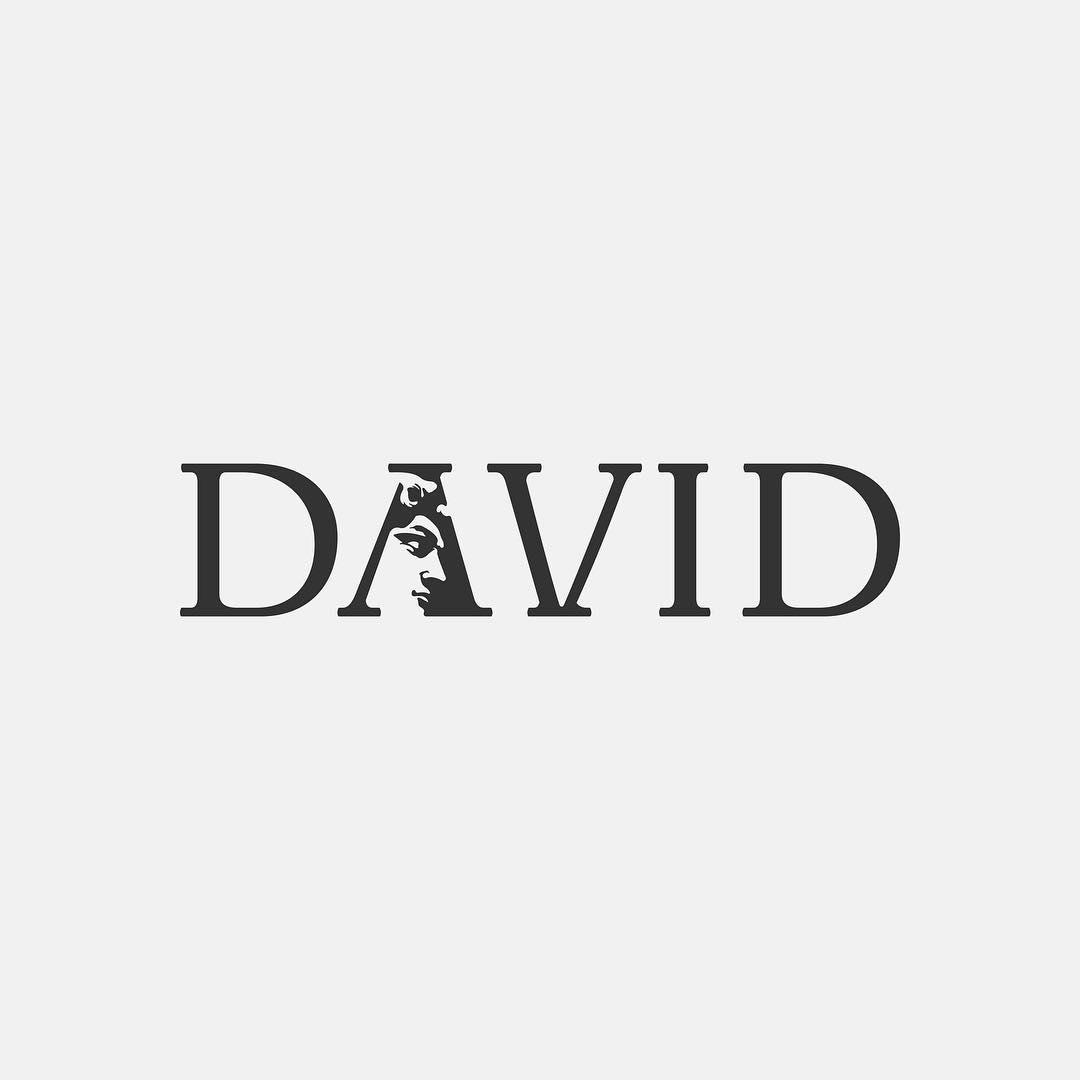 Typographic logos of common words - 40
