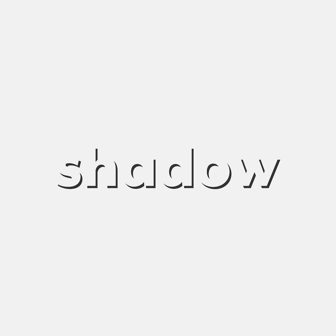 Typographic logos of common words - 41