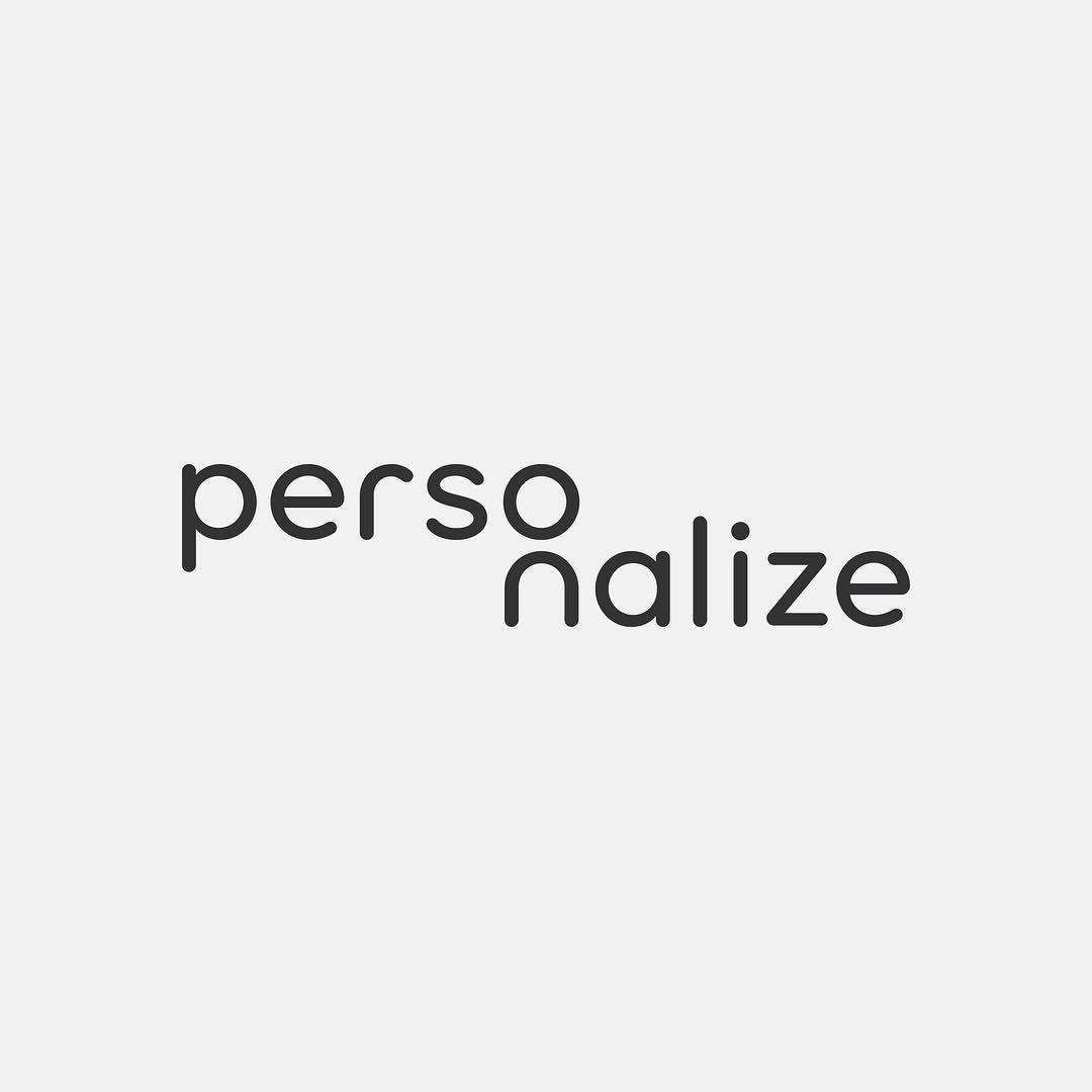 Typographic logos of common words - 6