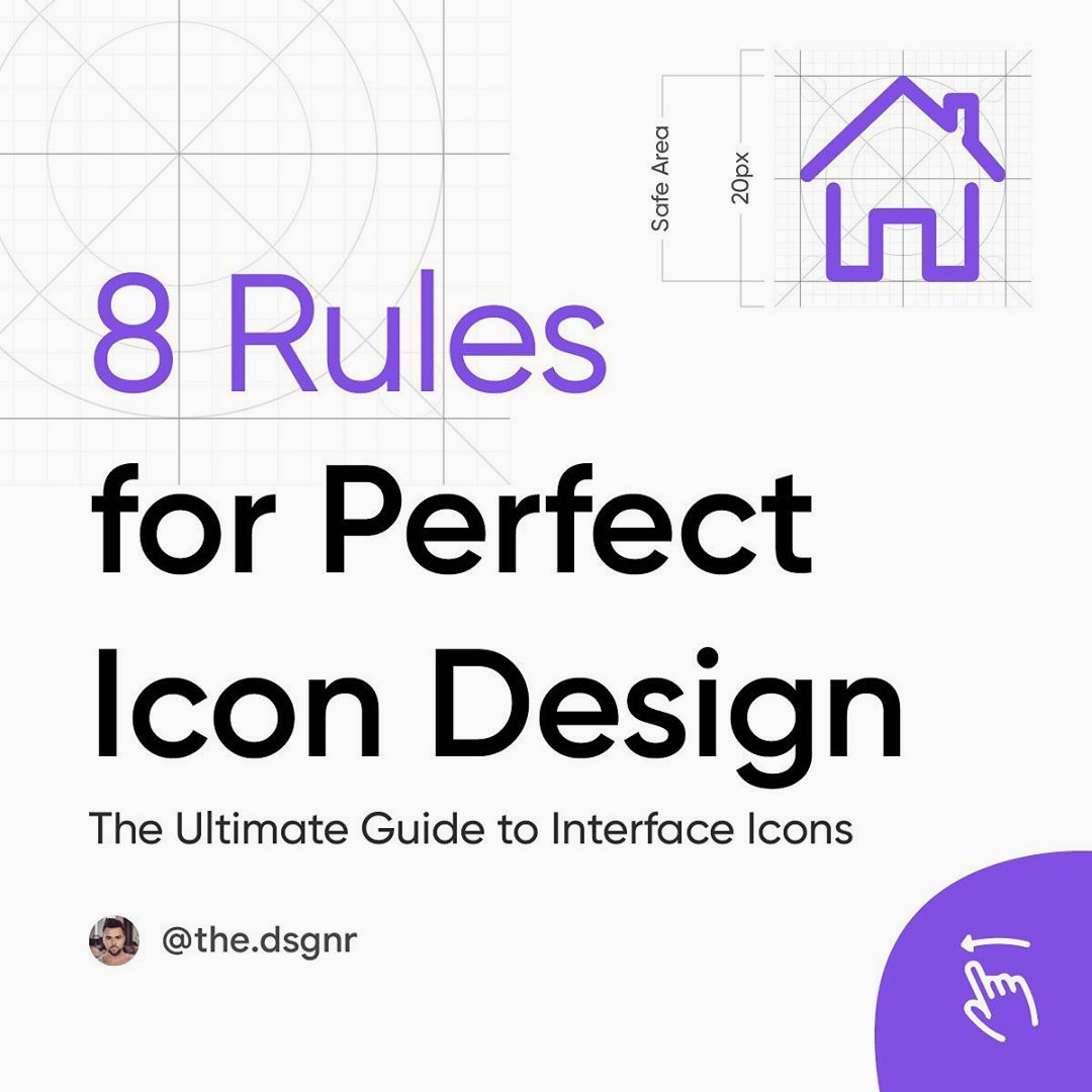 8 Rules for Perfect Icon Design
