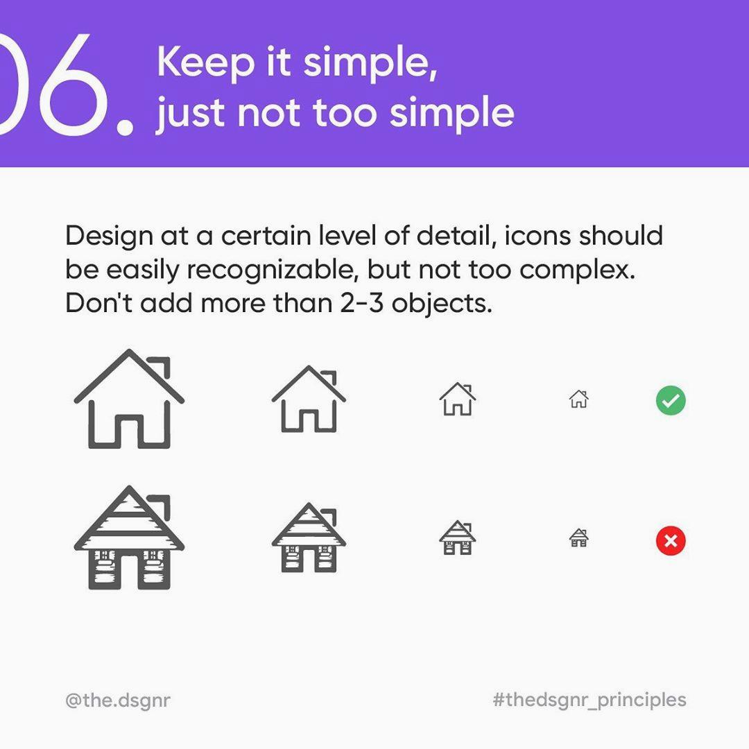 Icon Design Rules - 6