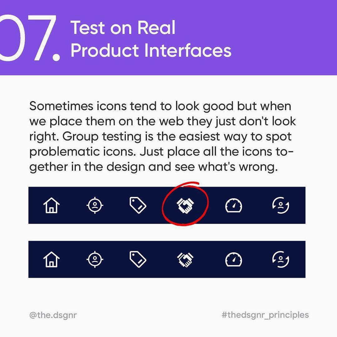 Icon Design Rules - 7