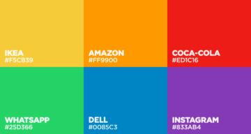Colors Used By Famous Brands (With Their Codes)