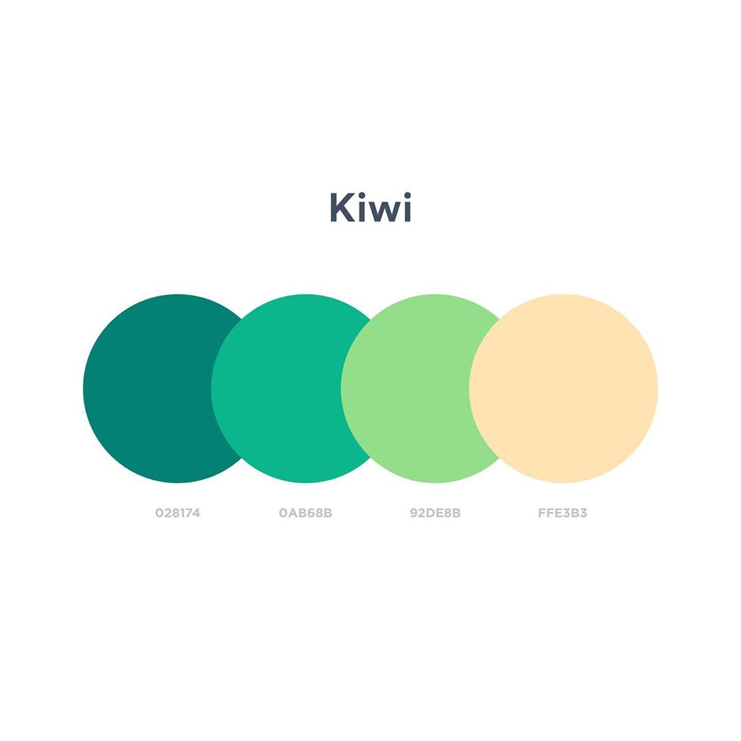 Color schemes, palettes, combinations - Green, yellow