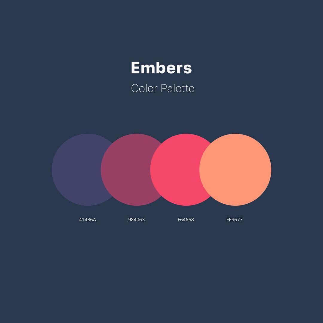 Color schemes, palettes, combinations - Blue, brown, red, orange
