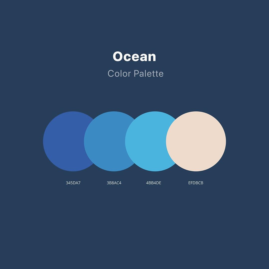 Color schemes, palettes, combinations - Blue, yellow