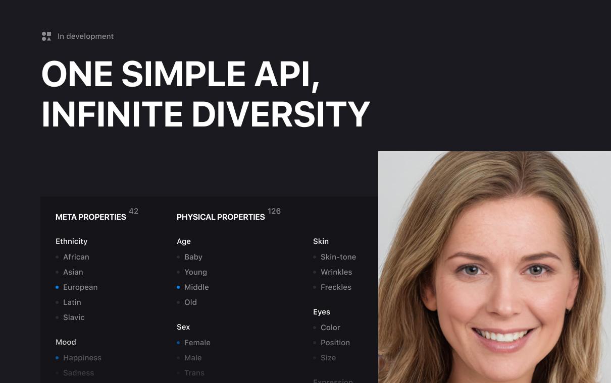 One simple API, infinite diversity