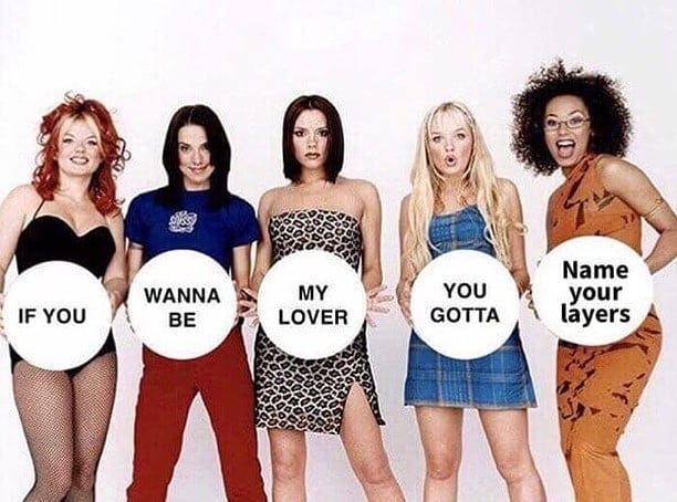 If you wanna be my lover, you gotta name your layers