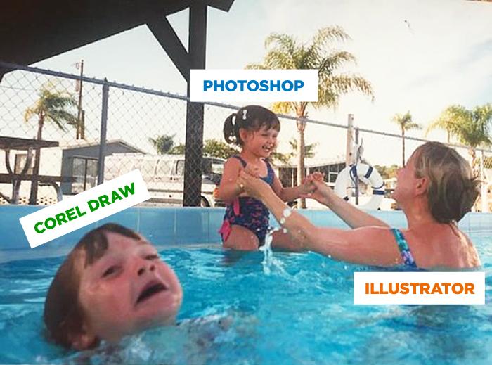 Corel Draw vs. Photoshop & Illustrator