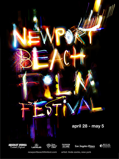 Creative Typography Ads - Newport Beach Film Festival