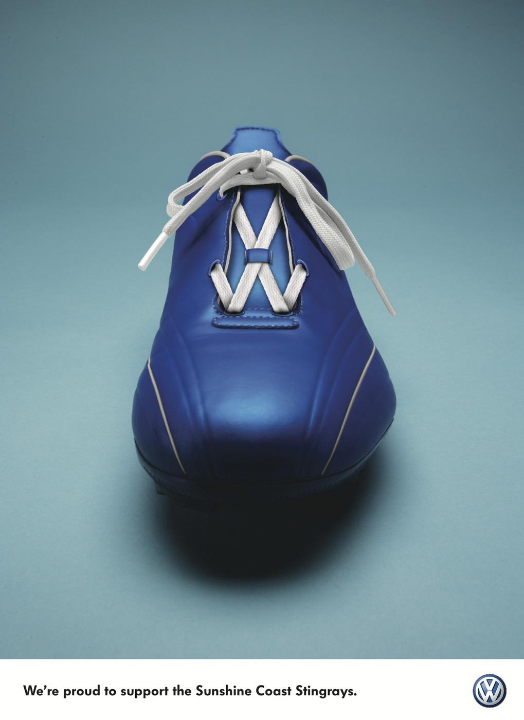 Creative Typography Ads - Volkswagen: Stingrays