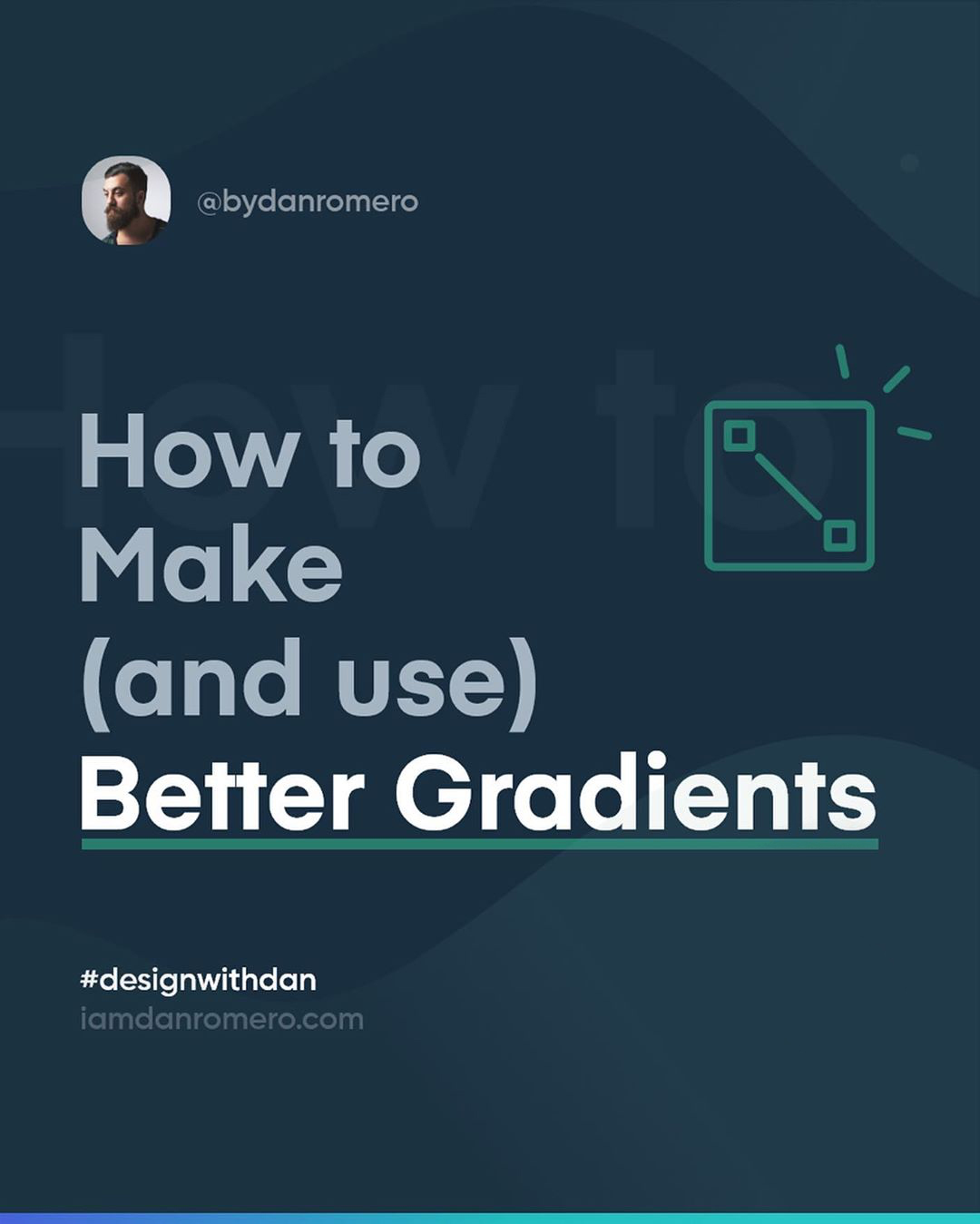 How to create better gradients