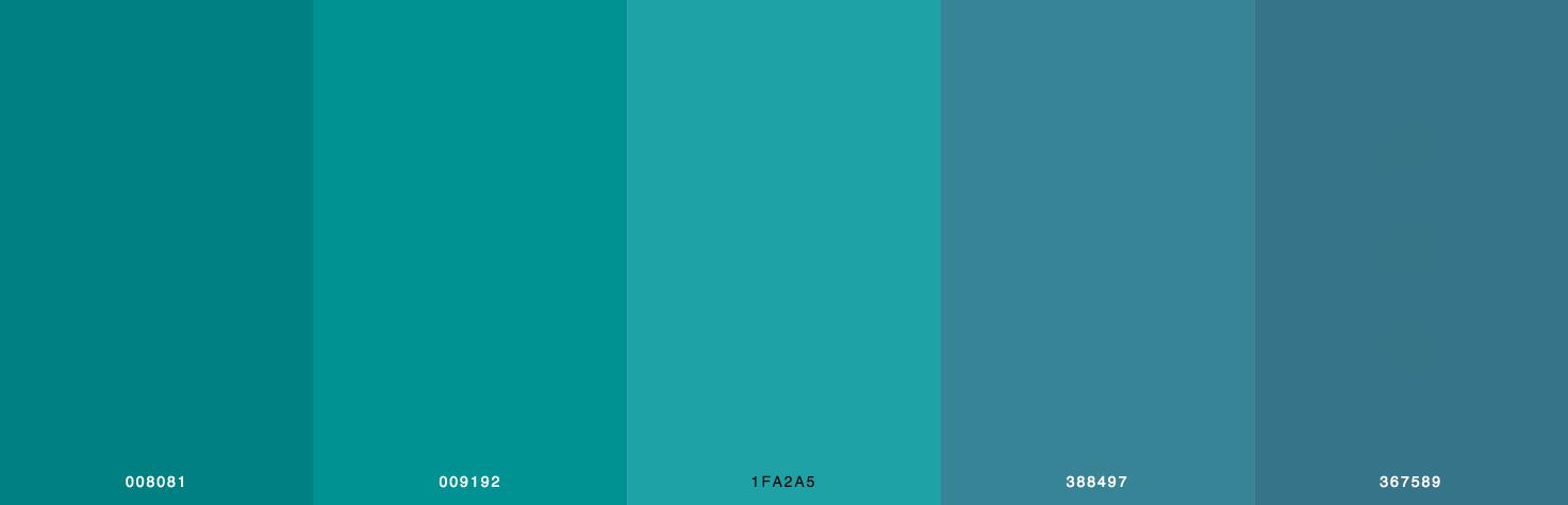 Green Color Scheme & Palette