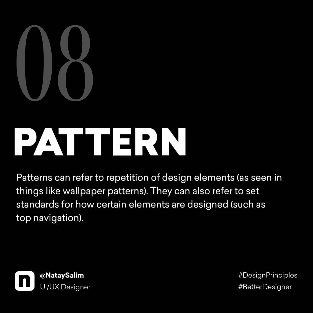 Design Principles - Pattern