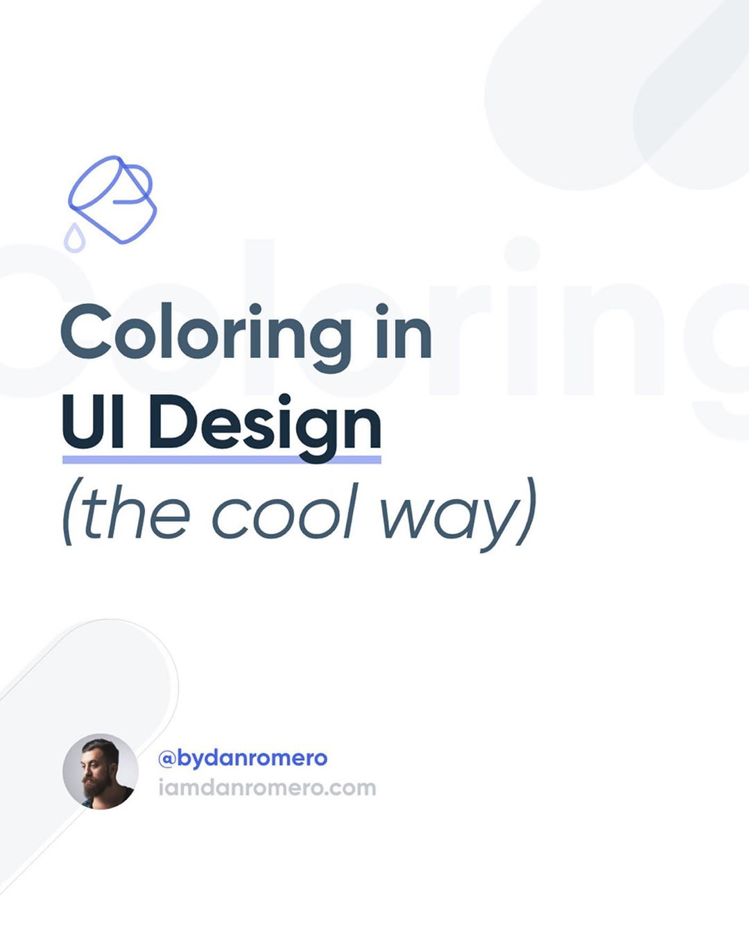 How To Apply Color To Your UI Design
