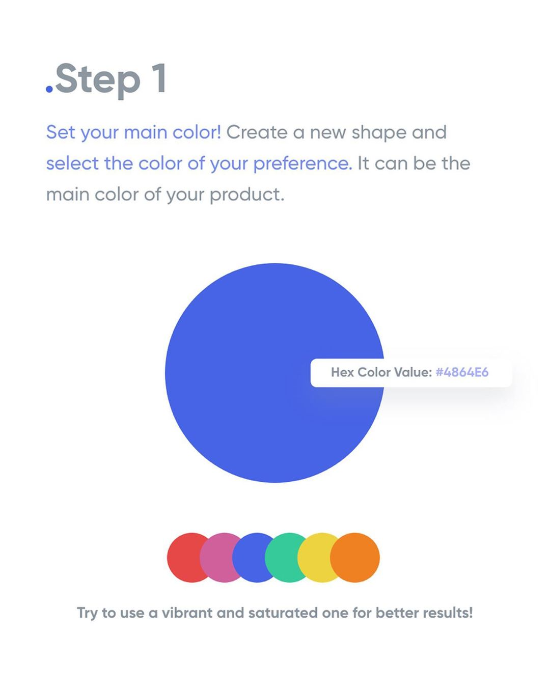 How To Apply Color To Your UI Design - Step 1