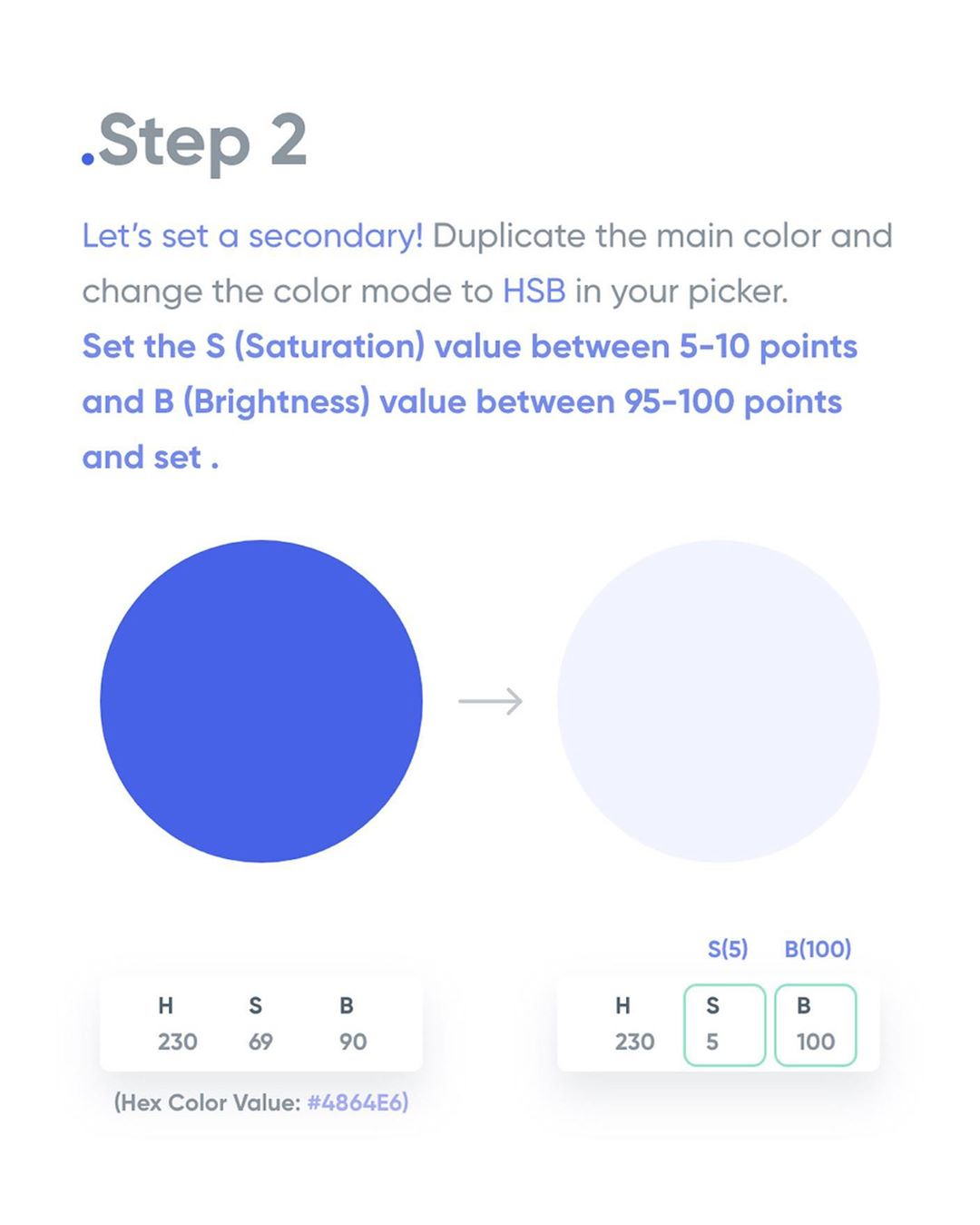 How To Apply Color To Your UI Design - Step 2