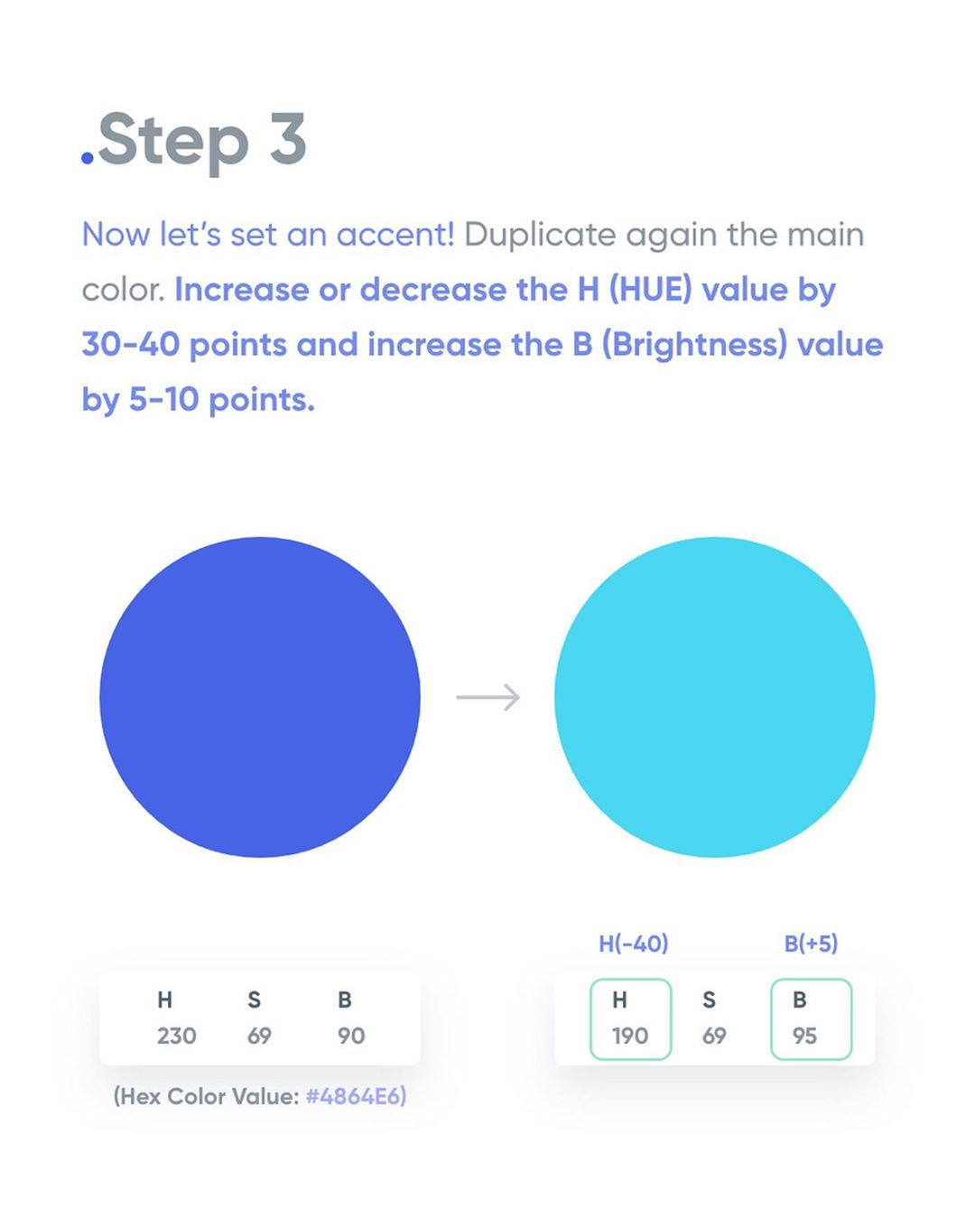 How To Apply Color To Your UI Design - Step 3
