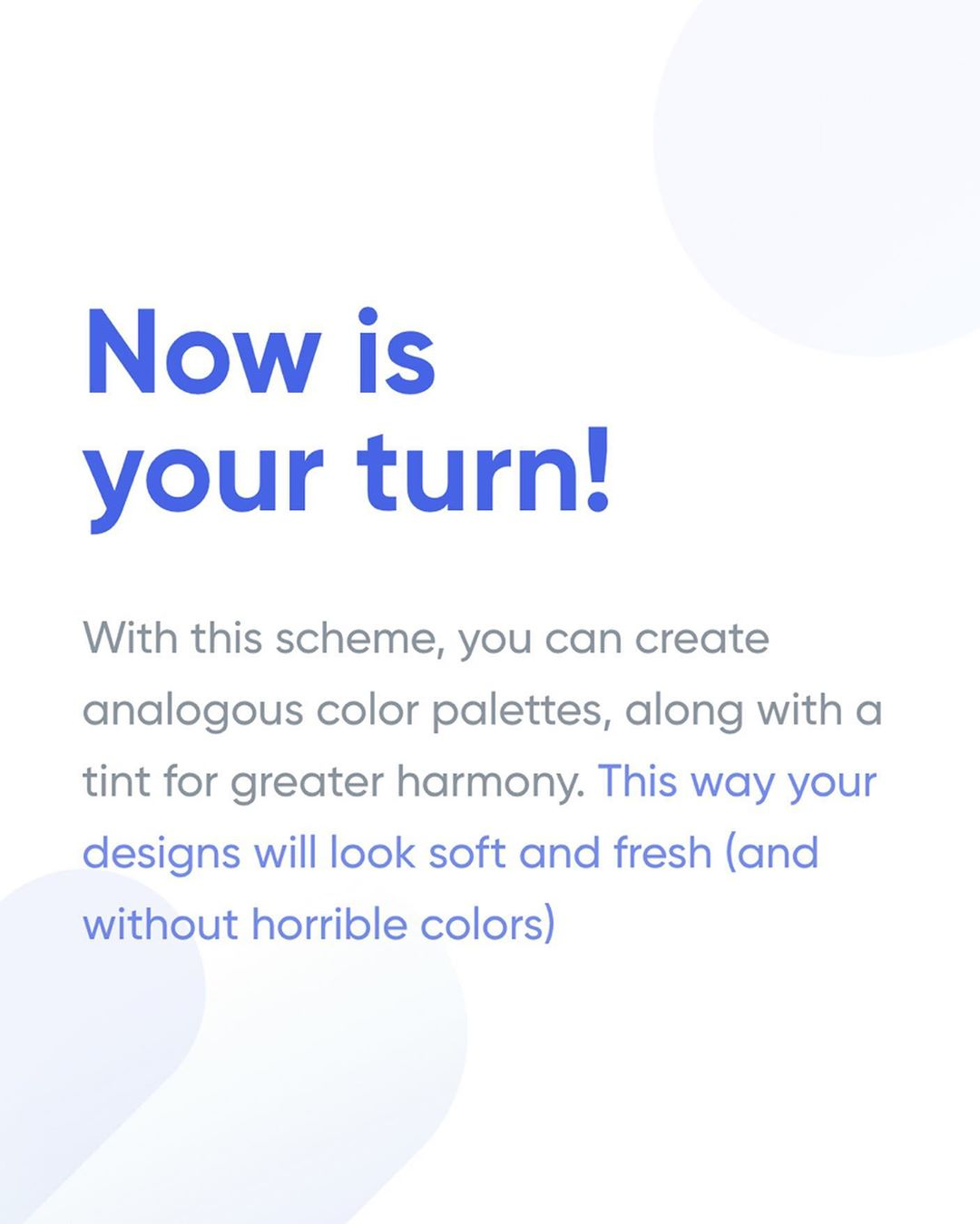 How To Apply Color To Your UI Design - Analogous Color Palettes