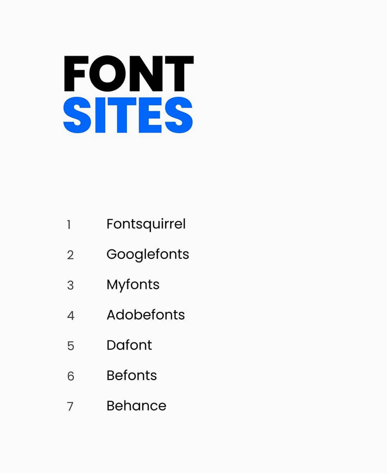 Font sites for logo designers