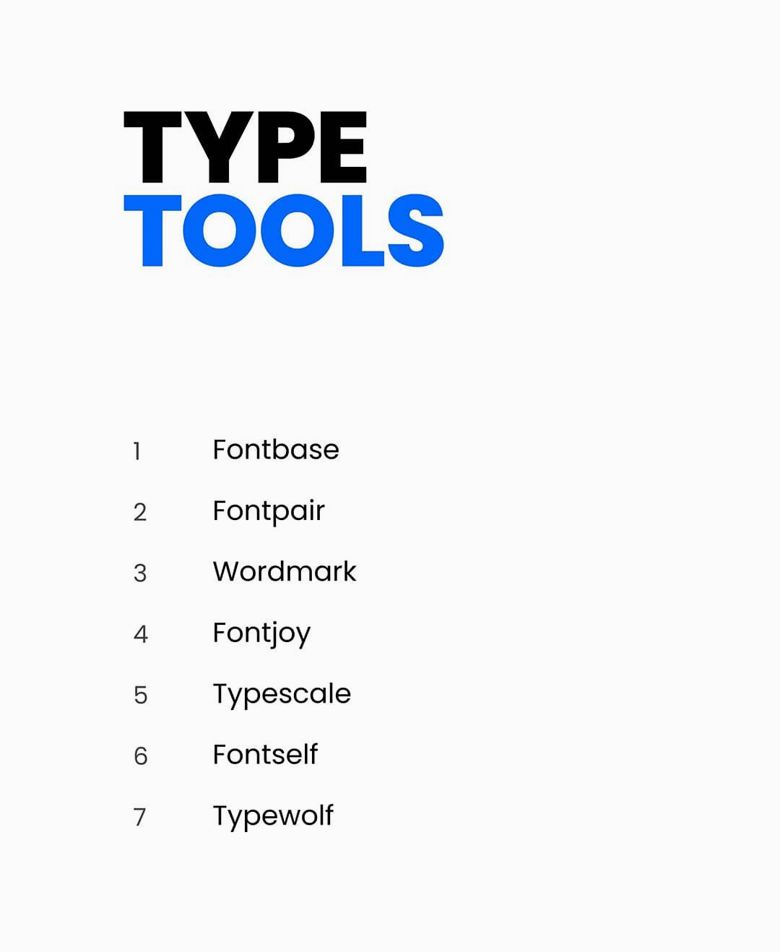 Type tools for logo designers